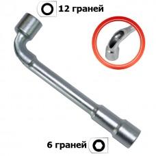 Ключ торцевий з отвором L-подібний 07мм HT-1607 Intertool