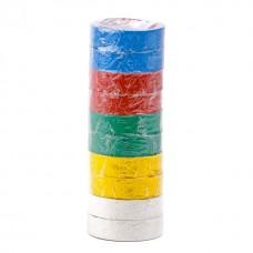 Ізолента 0.15мм*17мм*10м кольорова (уп 10 шт) IT-0014 Intertool