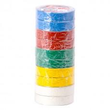 Ізолента 0.15мм*17мм*20м кольорова (уп 10 шт) IT-0024 Intertool