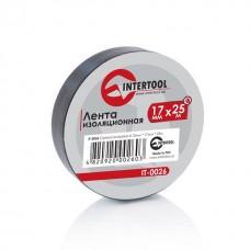 Ізолента 0.15мм*17мм*25м чорна (уп 10 шт) IT-0026 Intertool