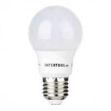 Лампа світодіодна E-27  7W куля A55 LL-0003  Intertool