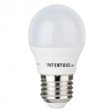 Лампа світодіодна E-27  5W куля G45 LL-0112  Intertool