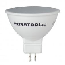 Лампа світодіодна підсв. MR-16 5W GU5.3 LL-0202 Intertool