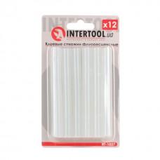 Комплект клейових стержнів флуоресцентних 11,2 мм * 100 мм, 12 шт. RT-1037 Intertool