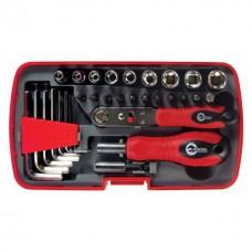 Викрутка з набором инструментів, 35 од. VT-1035 Intertool