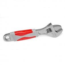 Ключ розвідний 150 мм, ізольована рукоятка,нікелеве покриття XT-0015 Intertool