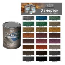 Фарба з молотковим ефектом MIXON ХАМЕРТОН коричн. 609 0,75л.