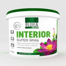 Фарба акрилова інтерєрна FLORA 1,4кг