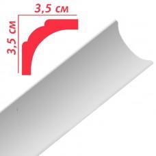 Плінтус декоративний Premium Decor PB2 35x35х2м (110шт)