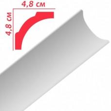 Плінтус декоративний Premium Decor PB50 48x48х2м (50шт)