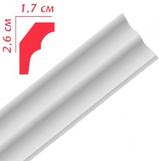 Плінтус декоративний Premium Decor PE25 26x17 (2м) (220шт)