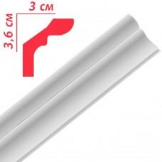 Плінтус декоративний Premium Decor PF40 36*30х2м (100шт)