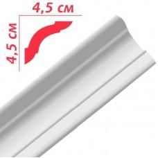 Плінтус декоративний Premium Decor PL45 45*45х2м (60шт)