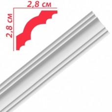 Плінтус декоративний Premium Decor PA30 28х28х2м (110шт)