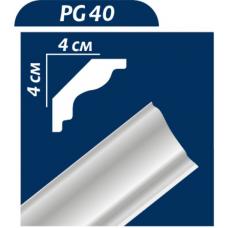 Плінтус декоративний Premium Decor PG40 40*40 х2м (150шт)