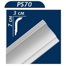 Плінтус декоративний Premium Decor PS-70 (2м) (65шт)